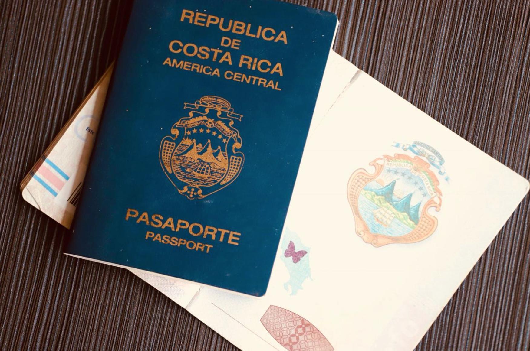 Costa Rica bietet neue Möglichkeit den Reisepass zu beantragen