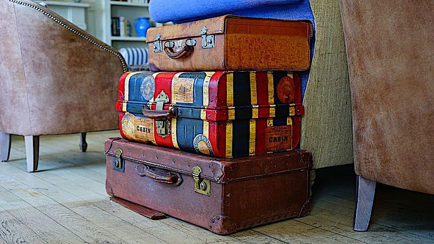 Ab zum Koffer packen